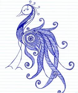 GinaMiranda-Peacock totem