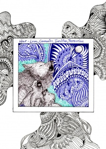 GinaMiranda-Wolf Totem
