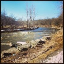 GinaMiranda-Credit river in the spring